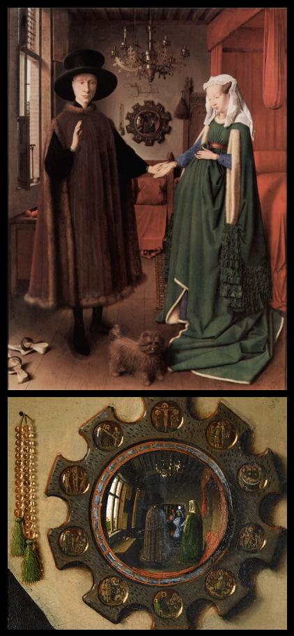 Les Époux Arnolfini,Jan Van Eyck, 1534