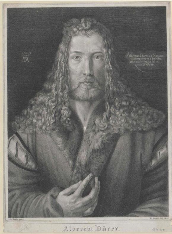 Autoportrait d'Albrecht Dürer