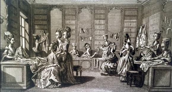 La Marchande de modes, Robert Bénard, 1769
