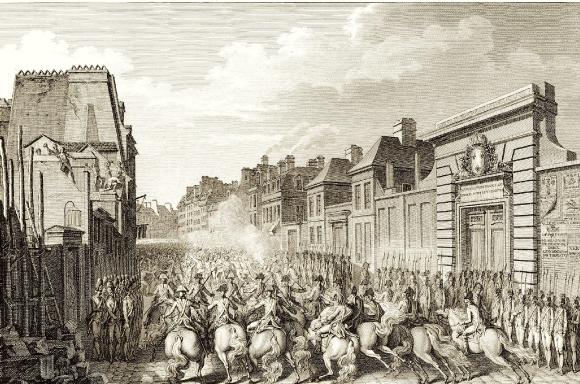 Attroupement au faubourg Saint-Antoine, le 28 avril 1789