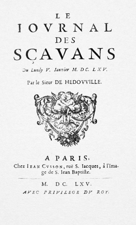 Le Journal des savants