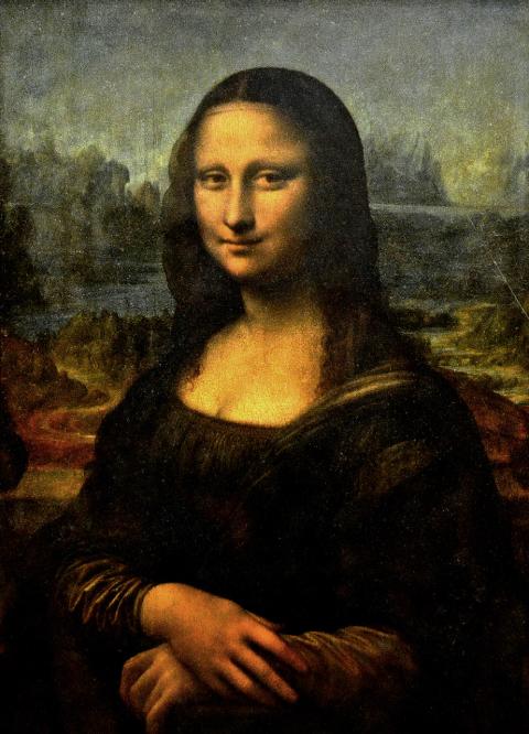 La Joconde,Léonard de Vinci,début du XVIe siècle