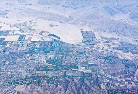 Palm Desert en Californie, une ville énergivore et très consommatrice d'eau