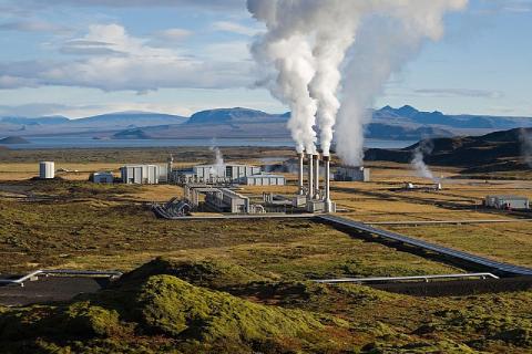 La centrale géothermique de Nesjavellir en Islande
