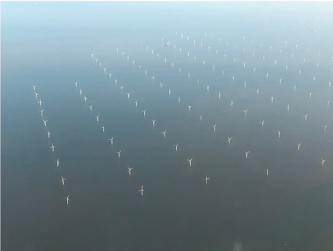 London Array (Royaume-Uni), un des plus vastes parcs éoliens offshore du monde