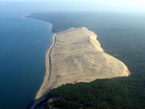 La dune du Pilat sur la côte landaise