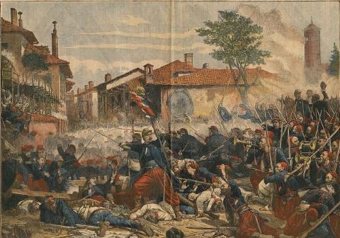 Bataille de Magenta, Adolphe Yvon, 1863