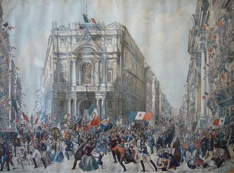 unification italienne achevée 1871 chute Second Empire