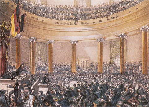 Parlement de Francfort en 1848