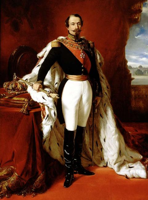 Portrait de Napoléon III, Franz Xaver Winterhalter, 1855
