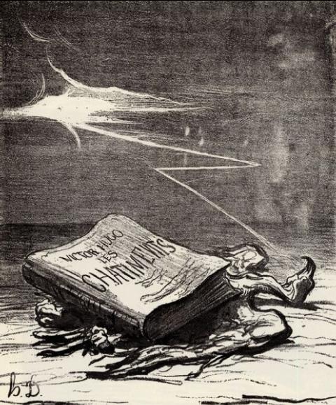 Couverture des Châtiments, Daumier