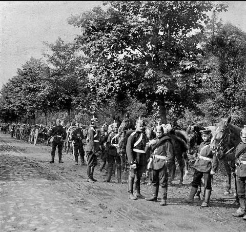 Invasion des troupes prussiennes à Torcy