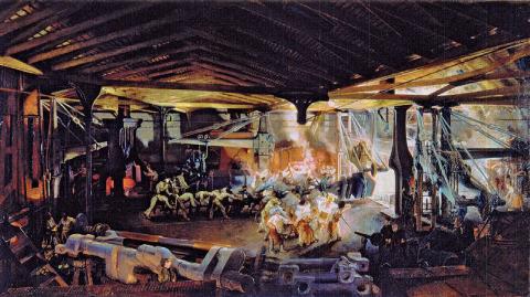 Marteau-pilon des forges du Creusot