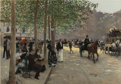 Napoléon III grands travaux ferroviaire routiers Haussmann