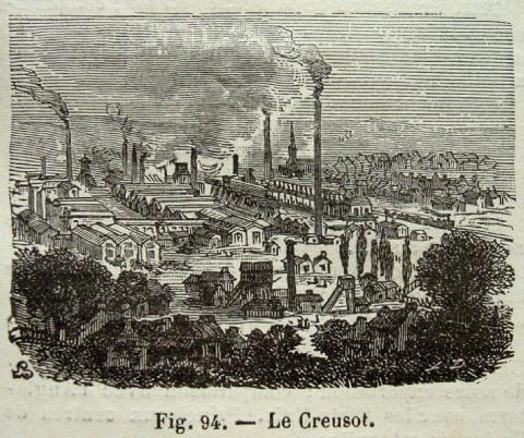 «Schneider ville» en 1860
