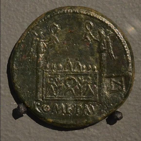 Pièce de monnaie frappée à Lyon