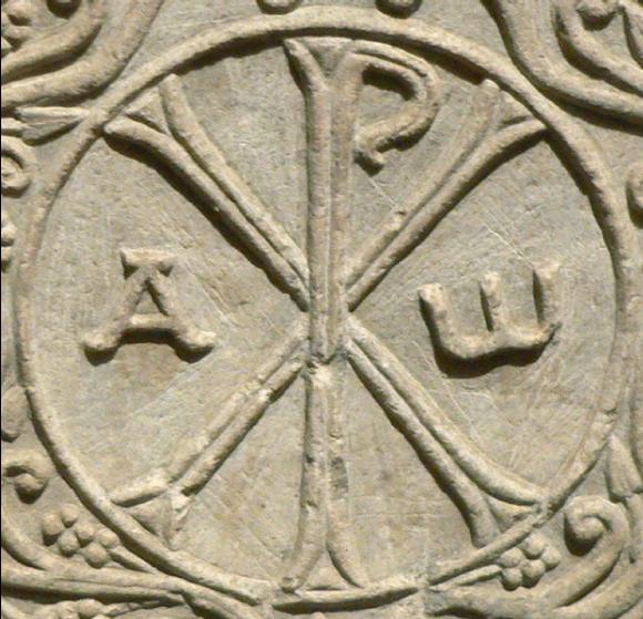 Le chrisme, symbole chrétien