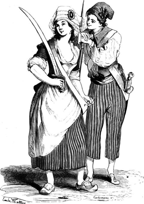 Les sans-culottes parisiens