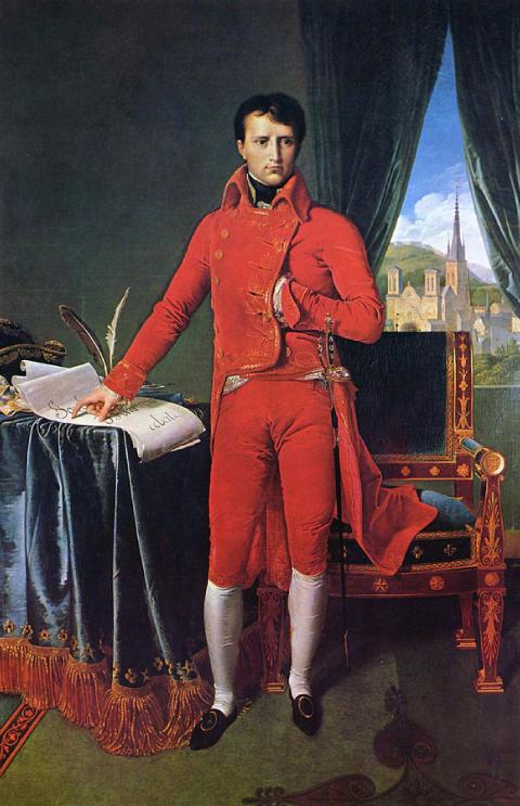 Le Premier consul Napoléon Bonaparte à la tête de l'État