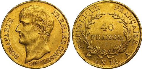 Franc germinal de 1804