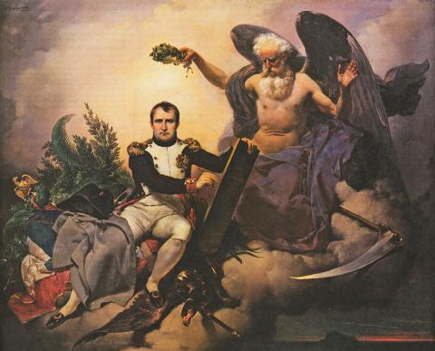 Couronné par le Temps, Napoléon Bonaparte écrit le Code civil