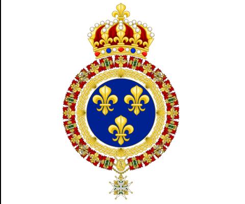 Drapeau de la France entre 1814 et 1830