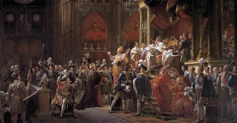 Le sacre de Charles X, François Gérard, 1827