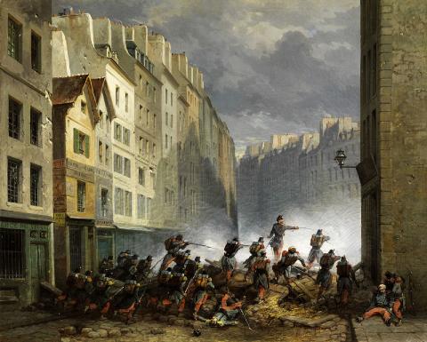 Révolution de juillet 1830, Nicholas-Edward Gabé, 1830