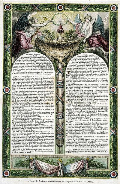 La Déclaration des Droits de l'homme et du citoyen de 1793
