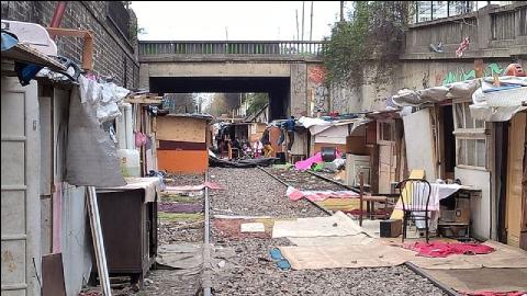 bidonvilles France précarité