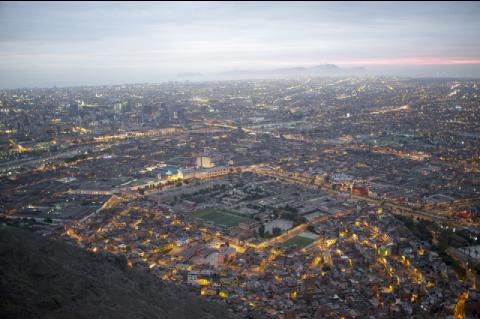 Lima, une ville qui concentre le tiers de la population du Pérou