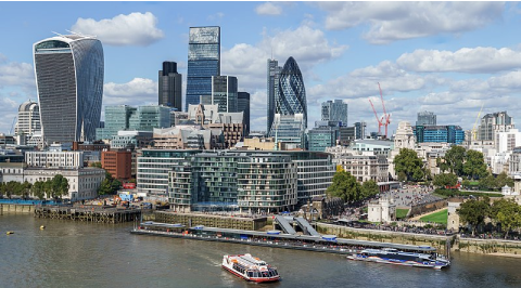 La City, le premier quartier d'affaires de Londres