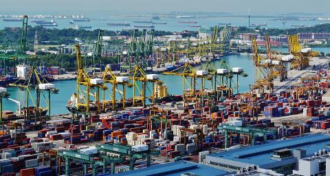 Singapour, hub mondial