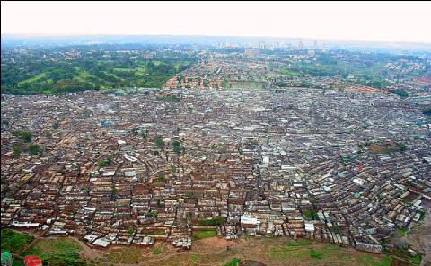 bidonville Kibera Nairobi