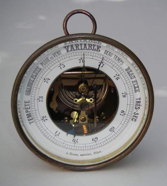 baromètre instrument mesure pression atmosphérique