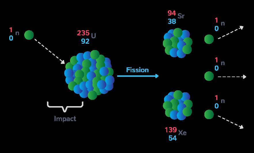 Fission de l'uranium 235