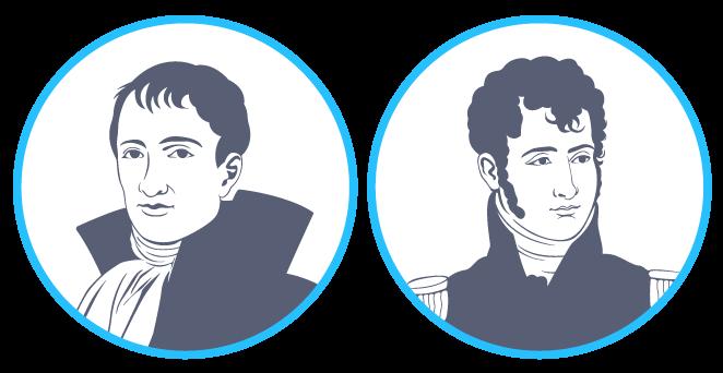 Joseph et Jérôme Bonaparte