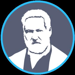 Portrait du poète Victor Hugo