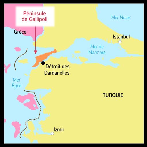 L'offensive des Dardanelles