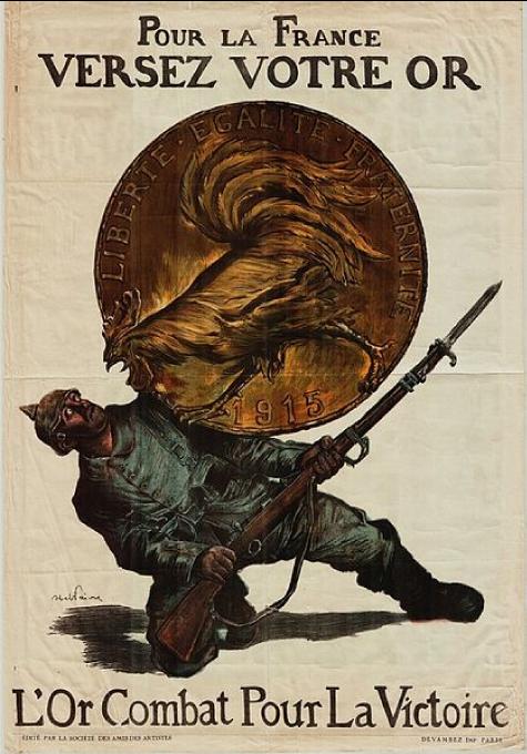 L'or combat pour la victoire, Faivre, 1915