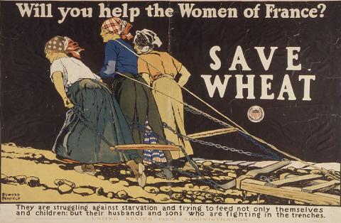 Affiche de propagande américaine de 1917