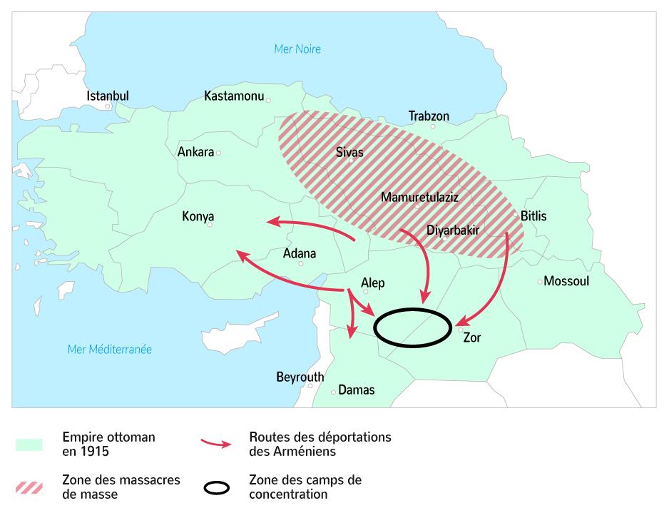 L'organisation du génocide des Arméniens