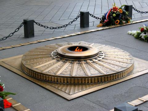 La tombe du Soldat inconnu à Paris