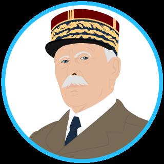 Le général Pétain (1856−1951)