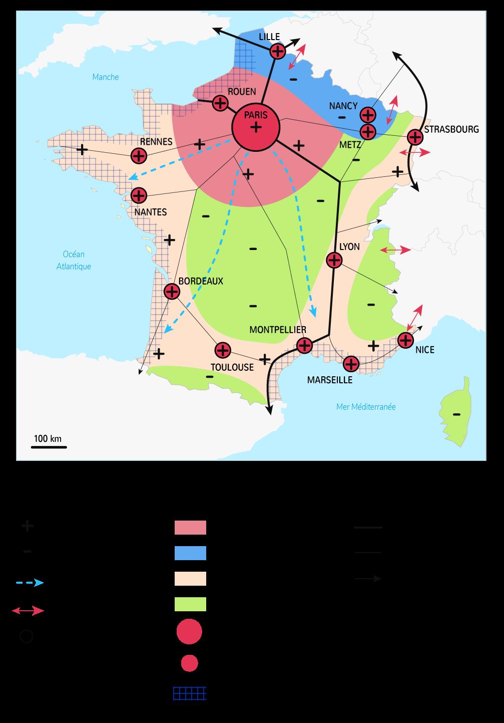 Mobilités et espaces productifs sur le territoire métropolitain