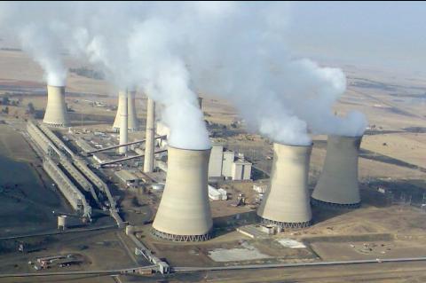 Centrale à charbon d'Arnot à Middelburg