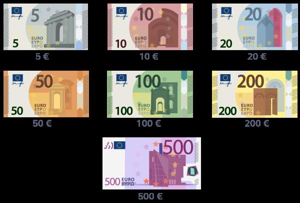 sept 7 billets euros