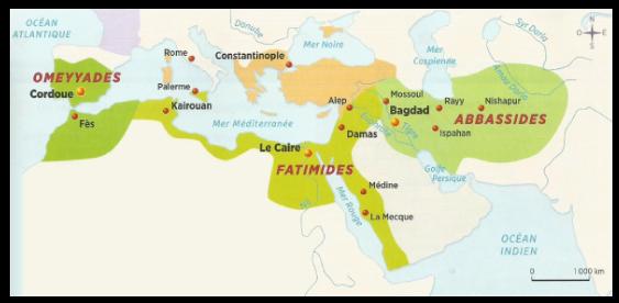Le monde musulman au Moyen Âge