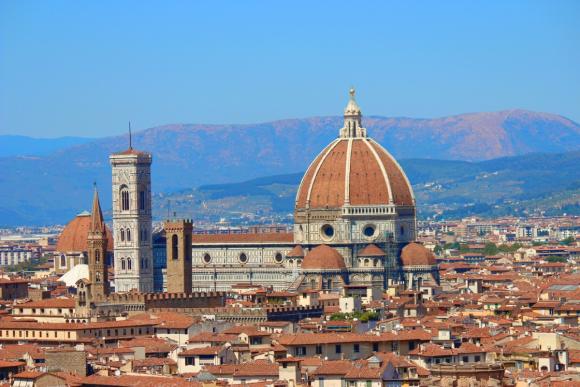 La cathédrale de Florence de Brunelleschi