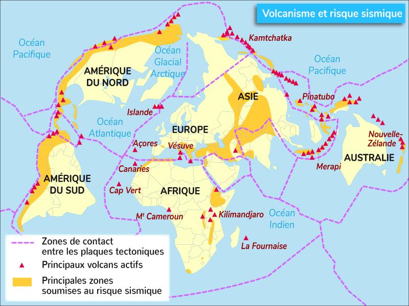 volcanisme risque sismique